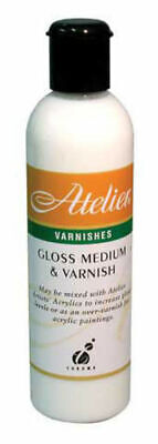 Atelier 250ml - Gloss Medium & Varnish