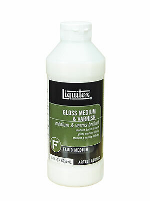 Liquitex 473ml - Gloss Medium & Varnish