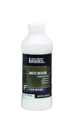 Liquitex 473ml - Matte  Medium