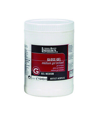 Liquitex 946ml - Gloss Gel Medium