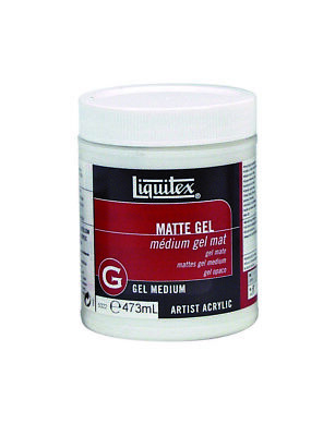 Liquitex 473ml - Matte Gel Medium