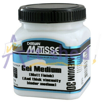 Matisse 250ml Matte Gel Medium