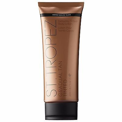 200ml ST TROPEZ Gradual Tan TINTED Everyday Body Lotion