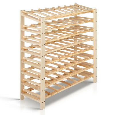 64 Bottles Timber Wine Rack