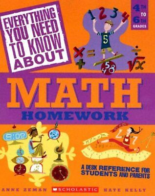 Everything You Need To Know About Math Homework: A