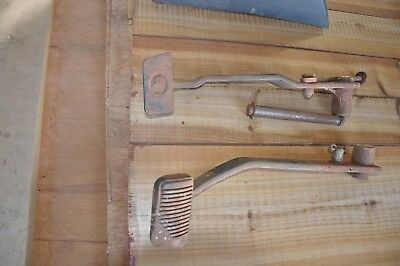 Ford XR/XT Clutch and Brake Pedals