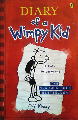 Diary Of A Wimpy Kid Childrens  Book