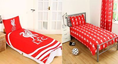 Children Liverpool F.C. Football Club Reversible Single Duvet Quilt Cover Set