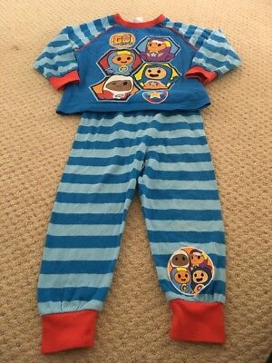 Boys Go Jetters Pyjamas Age 2-3 Years Worn Once