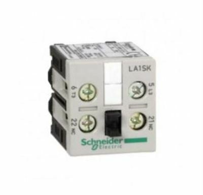 Schneider Electric LA1SK11 - Clip On Auxiliary Contact -Screw Terminal, NO/NC