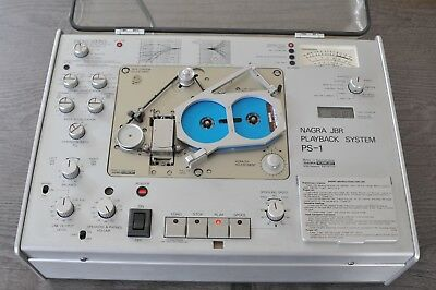 RARE NAGRA JBR PS-1 PLAYBACK SYSTEM by NAGRA KUDELSKI. Tested Working with tape.