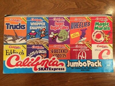Vintage 1993 California SKATExpress Order Form Skateboarding 90s Decks Wheels