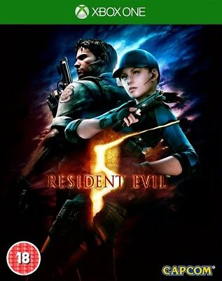 Resident Evil 5 HD Remake Including ALL DLC Xbox One * NEW SEALED PAL *
