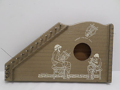 Vintage Magic Zither by Habert Italiana Milano made in Italy