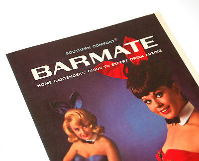 Vintage Barmate Bar Guide for SOUTHERN COMFORT from June 1965 Playboy (Fine)