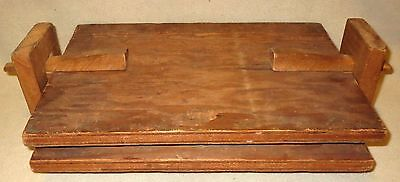 Vintage 1930's Wooden Photographic Print Press ~ handmade
