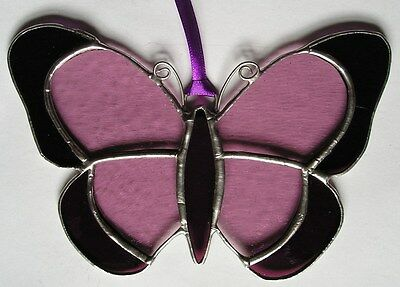 Stained Glass Butterfly, Suncatcher, Hand Made in England