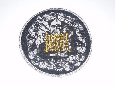 Napalm Death Utilitarian Woven Patch