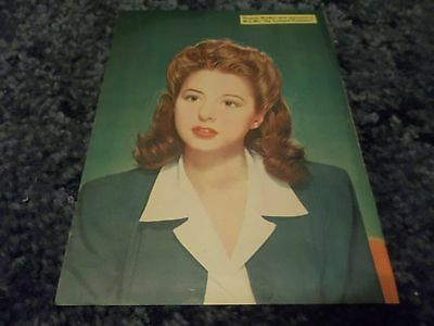 Virginia Weidler rare  clipping #729