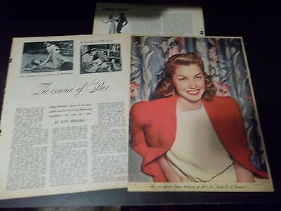 Esther Williams vintage  clipping #63