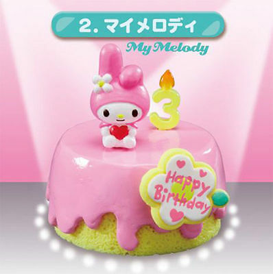 Re-ment Sanrio Melody Birthday Cake No.2 re ment pastel sweet cute Hello Kitty