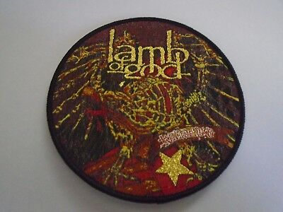 Lamb Of God Killadelphia Woven Patch