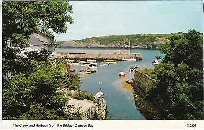 The Creek & Harbour From The Bridge, CEMAES Bay, Isle Of Anglesey