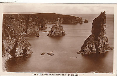 The Stacks Of Duncansby, JOHN O' GROATS, Caithness RP