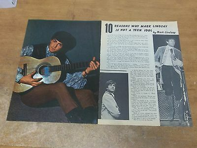 Mark Lindsay pinup  clipping #705
