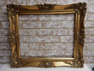 """VINTAGE old picture frame fits a 20 inch X 16"""" painting"""