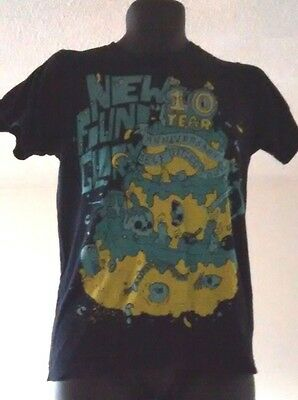 New Found Glory 10 Year Anniversary Self Titled Tour T Shirt Size S