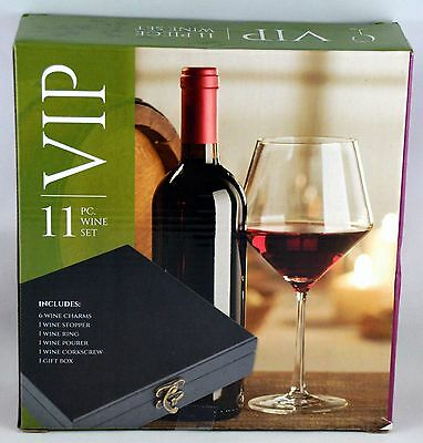 VIP 11 Pc. Wine Set NIB