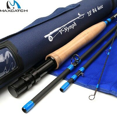 MaxCatch V-Nymph Fly Rod 104-4, Fliegenrute