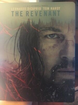 The Revenant (Blu-ray Disc, 2016, SteelBook) used great shape.  Dicaprio Hardy