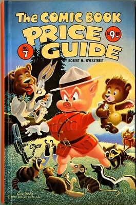 Overstreet Price Guide #7 1977-1978  Hard cover  F  Porky Pig & friends on cover