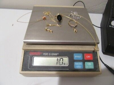 10K Gold Lot As Scrap - Some Wearable - 10 Grams