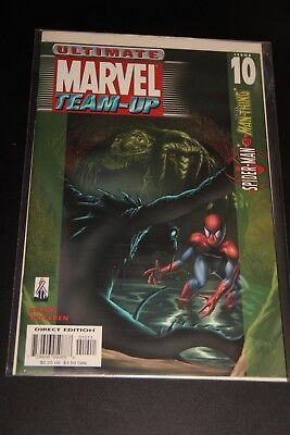MARVEL Comics Ultimate Marvel Team-Up Spider-Man The Man-Thing - NM
