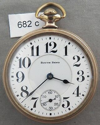 South Bend No. 227 Railroad Pocket Watch, 21 Jewels, Lever Set
