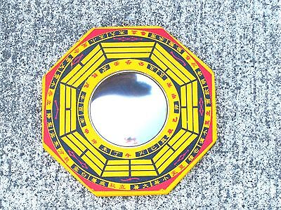 Feng Shui Chinese Convex Mirror Bagua Ba Gua Protection 8 Inch