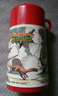 Vintage Cadillacs and Dinosaurs Thermos - Aladdin 1993 Lunch Cup