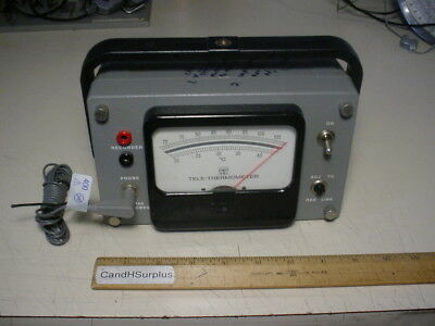 YSI Model 43 TA Tele-Thermometer with probe