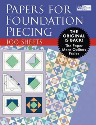 NEW Papers for Foundation Piecing By That Patchwork Place Looseleaf sheets only