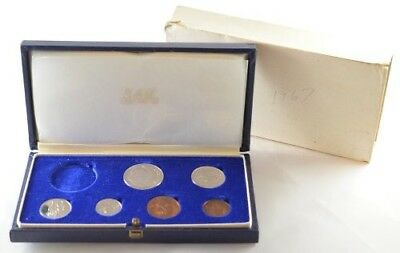 1967 South Africa Proof Set (Missing 1 Coin)