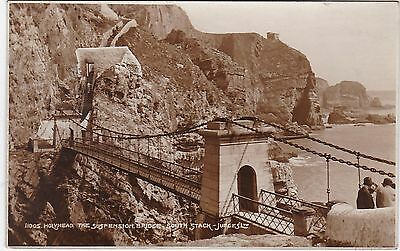 The Suspension Bridge, South Stack, HOLYHEAD, Isle Of Anglesey RP