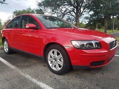 2006 Volvo S40  uperclean and very low mileage 2006 Red Volvo S40 2.4i Sedan 4-Door 14761 miles