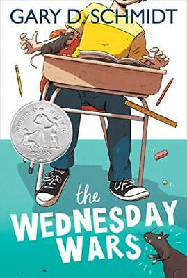 The Wednesday Wars by Schmidt, Gary D. Book The Cheap Fast Free Post