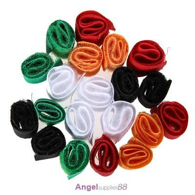 20 X Straps Wrap Wire Cord Cable Organizer Tie Rope Holder for Laptop PC