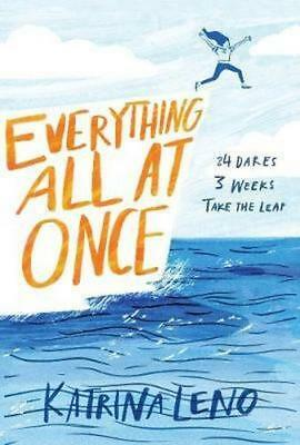 NEW Everything All At Once By Katrina Leno Hardcover Free Shipping