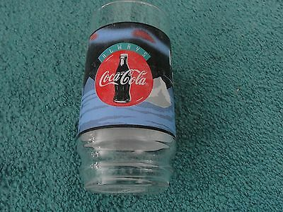 Coca Cola Polar Bear  16 ounce Glass Tumbler