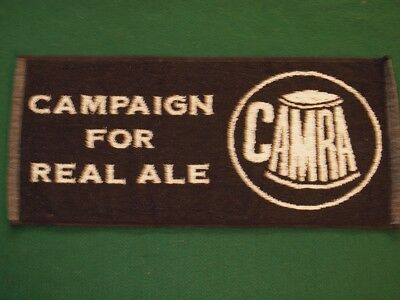 CAMRA Campaign for Real Ale Beer Bar Towel